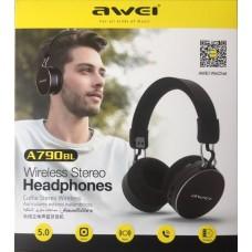 Ακουστικά κεφαλής επαναφορτιζόμενα Bluetooth A790BL AWEI