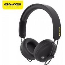 Ακουστικά κεφαλής επαναφορτιζόμενα Bluetooth A800BL AWEI