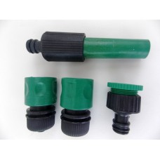 Σετ πιστόλι εκτόξευσης νερού με συνδέσμους