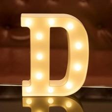 Γράμμα LED μπαταρίας  D 22cm