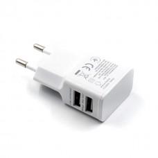 Διπλός φορτιστής ρεύματος usb 2,1A