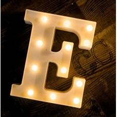 Γράμμα LED μπαταρίας  E 22cm
