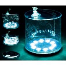 Αναδιπλούμενο αδιάβροχο φουσκωτό ηλιακό φανάρι με 10 LED - Rechargeable night lamp solar lantern