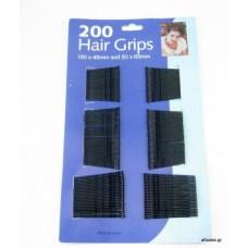 Σετ 200 τσιμπιδάκια μαλλιών