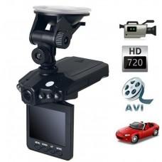 """HD κάμερα αυτοκίνητου με οθόνη 2,5"""" υψηλής ανάλυσης με καταγραφικό"""