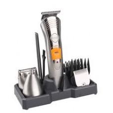 Επαγγελματικό & επαναφορτιζόμενο σετ 7σε1 περιποίησης τριχών, κουρευτική, ξυριστική μηχανή ΚΕΜΕΙ ΚΜ-580Α