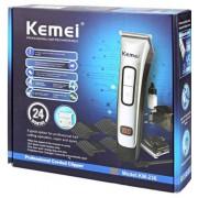 Επαναφορτιζόμενη ηλεκτρική κουρευτική μηχανή KEMEI KM-236