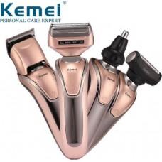 Επαναφορτιζόμενη ηλεκτρική ξυριστική κουρευτική μηχανή KEMEI KM-1622