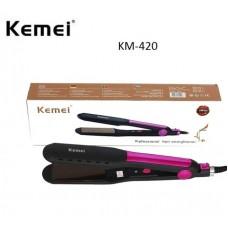 Ισιωτική μαλλιών KM-420 Kemei 8104