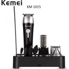Αδιάβροχη επαναφορτιζόμενη κουρευτική και ξυριστική μηχανή KM-1015 KEMEI