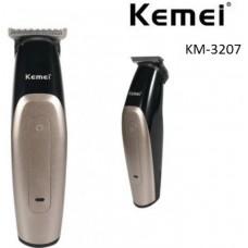 Επαγγελματική, επαναφορτιζόμενη κουρευτική μηχανή KM-3207 Kemei