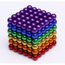 3D πολύχρωμος μαγνητικός κύβος παζλ Cyber cube