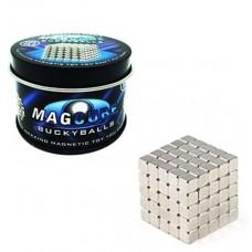 Μίνι μαγνητικοί κύβοι κατασκευών 125 τεμάχια MAGCUBE