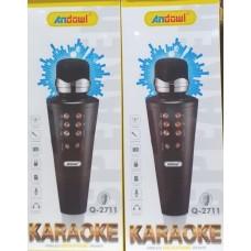 Ασύρματο μικρόφωνο ηχείο Karaoke Q-2711 ANDOWL