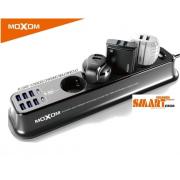 Πολύπριζο με θύρες USB και Type-C MX-ST05 MOXOM