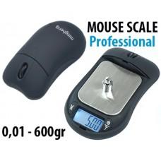 Μίνι ψηφιακή επαγγελματική ζυγαριά ακριβείας 0,01gr - 600gr Mouse Scale