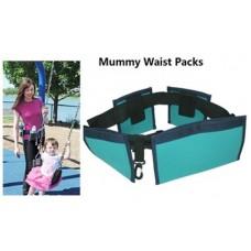 Ζώνη μέσης με αφαιρούμενες τσέπες - Mummy waist diaper bag