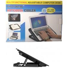 Πολυλειτουργική βάση φορητού υπολογιστή με ανεμιστήρα USB SHAOYUNDIAN 23521-197