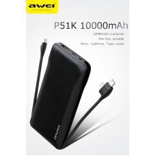 Power Bank Awei P51K 10.000 mAh