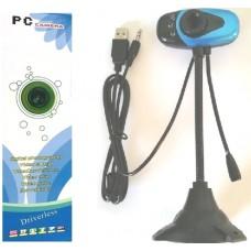 Εύκαμπτη, επιτραπέζια web κάμερα USB με μικρόφωνο 24841