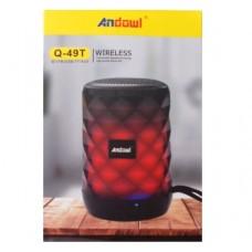 Ασύρματο επαναφορτιζόμενο ηχείο Bluetooth Q-49T ANDOWL