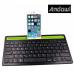 Ασύρματο, επαναφορτιζόμενο πληκτρολόγιο bluetooth με βάση για tablet και τηλέφωνα  Q-812 ANDOWL