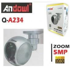 Ασύρματη κάμερα με ζουμ  IP FULL HD 5MP WIFI Q-A234 ANDOWL