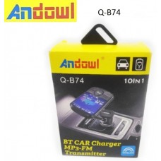 FM MP3 Bluetooth αναπτήρα αυτοκινήτου Q-B74 ANDOWL