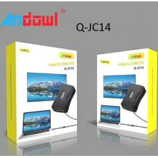 HDMI προσαρμογέας επέκτασης καλωδίου θηλυκό σε θηλυκό Q-JC14 ANDOWL