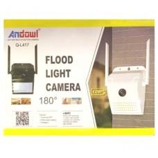 Ασύρματη κάμερα με προβολέα LED 5MP 1080 HD WIFI Q-L417 ANDOWL