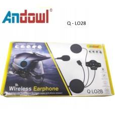 Επαναφορτιζόμενα ακουστικά κράνους μοτοσικλέτας Q-LO28 ANDOWL