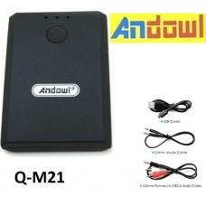 Επαναφορτιζόμενος δέκτης και πομπός ήχου Bluetooth Q-M21 ANDOWL