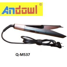 Ηλεκτρικό σίδερο για ίσιωμα μαλλιών Q-M537 ANDOWL