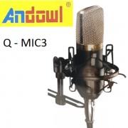 Μονοκατευθυντικό μικρόφωνο ηχογράφησης Q-MIC3 ANDOWL