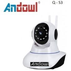 Έξυπνη περιστρεφόμενη ασύρματη κάμερα Q-S3 ANDOWL