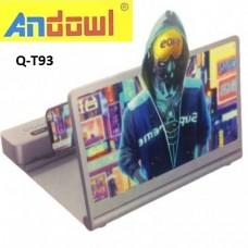 Μεγεθυντής οθόνης κινητού τηλεφώνου με ηχείο Bluetooth Q-T93 ANDOWL