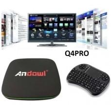 Smart TV Box 4k HD Q4PRO ANDOWL
