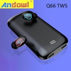 Hi-Fi στερεοφωνικά ασύρματα ακουστικά μουσικής Q66 TWS ANDOWL