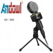 Επιτραπέζιο μικρόφωνο με τρίποδο QY-920 ANDOWL