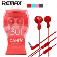 Ακουστικά και handsfree REMAX 301