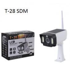 Ηλιακό ομοίωμα κάμερας με φως LED και αισθητήρα κίνησης  T-28 SDM