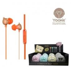 Ακουστικά αρκουδάκι YK850 YOOKIE
