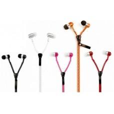 Ακουστικά handsfree φερμουάρ - Zipper earphones with mic tymed
