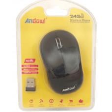 Ασύρματο εργονομικό ποντίκι 2,4 Ghz AN-185 ANDOWL