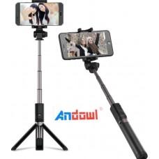 Μικρό ασύρματο τρίποδο για κινητό ή φωτογραφική μηχανή Andowl Q-A60