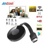 Ασύρματο HDMI Dongle προβολής αρχείων PC, τηλεφώνου σε  TV ANDOWL
