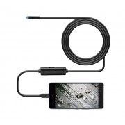 USB Android ενδοσκοπική αδιάβροχη κάμερα μικροσκόπιο 6x LED για κινητά τηλέφωνα OTG μήκους 5 μέτρων