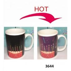 Θερμικά ευαίσθητη κεραμική κούπα Πάρτι Γενεθλίων 3644