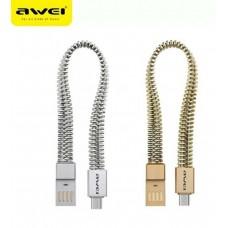 AWEI  Βραχιόλι καλώδιο δεδομένων USB για Αndroid  CL-86