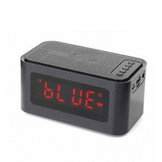 Ασύρματο επιτραπέζιο ηχείο Bluetooth με ξυπνητήρι, κάρτα TF S-61